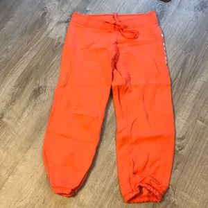 Orange PINK Capris